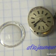 Recambios de relojes: MICROSCOPICA MAQUINA RELOJ ZENITH 17 JEWELS VINTAGE FUNCIONANDO. Lote 129649335