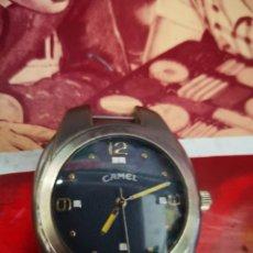 Recambios de relojes: ANTIGUO Y BONITO RELOJ CAMEL DE MATERIAL PESADO(CREO QUE ES ACERO) . Lote 130006819