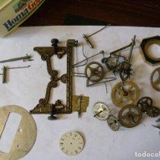 Recambios de relojes: 25 PIEZAS:RUEDAS ENGANCHE, MARTILLOS, VENTEROL, ESCAPES- LOTE 128. Lote 130168151