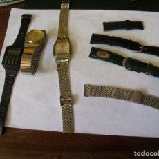 Recambios de relojes: RELOJES DE CUARZO Y CORREAS- LOTE 128. Lote 130169075