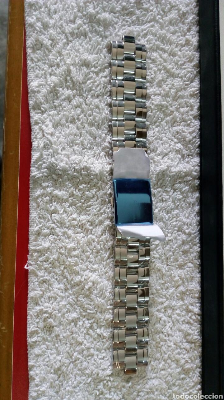 Recambios de relojes: CORREA ACERO SWISS MADE CABALLERO - Foto 4 - 130341434