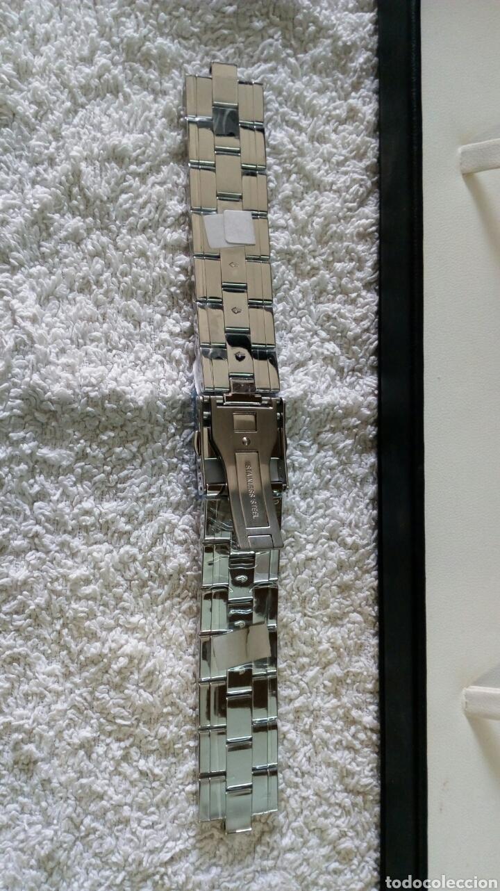Recambios de relojes: CORREA ACERO SWISS MADE CABALLERO - Foto 5 - 130341434