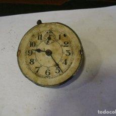 Recambios de relojes: ANTIGUA MAQUINARIA DE DESPERTADOR ART-NOUVEA -AÑO 1910-PARA RESTAURAR O PIEZAS-LOTE 129. Lote 130347626