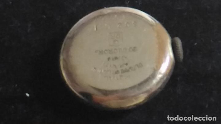 Recambios de relojes: RELOJ ANTIGUO. METAL PLAQUE OR LAMINE. GARANTI 10 AMS. 20 MICRONS. PARA PIEZA - Foto 2 - 131213544
