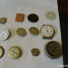 Recambios de relojes: 14 PIEZAS PARA RELOJES ANTIGUOS LOTE 61. Lote 131734818