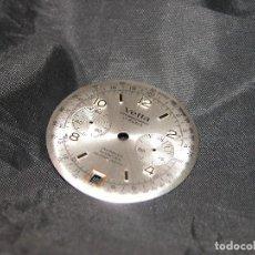 Recambios de relojes: ANTIGUA ESFERA DE RELOJ CHRONOGRAPH VETTA. VINTAGE. NUEVO. NOS.. Lote 132114950