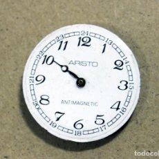 Recambios de relojes: RELOJ ESFERA Y MAQUINARIA ARISTO. Lote 132312174