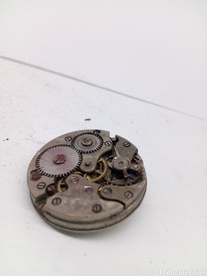 Recambios de relojes: Maquinaria reloj suizo 24mm esfera - Foto 2 - 132896643