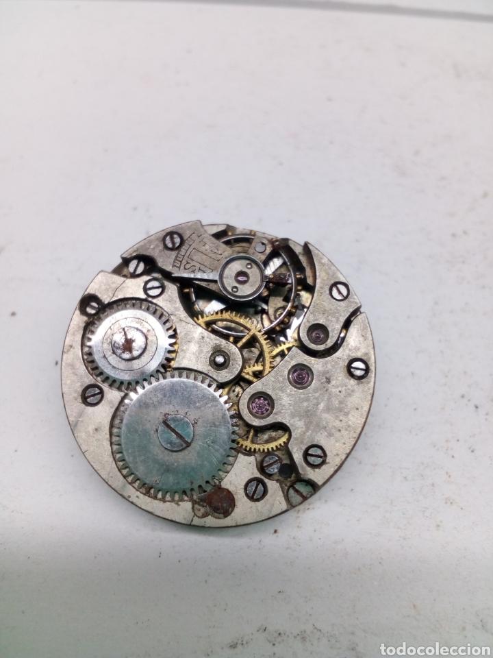Recambios de relojes: Maquinaria reloj suizo 24mm esfera - Foto 3 - 132896643