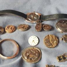 Recambios de relojes: MÁQUINAS DE RELOJES MANUALES Y UNA AUTOMATICA. Lote 133011043