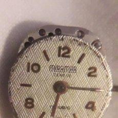 Recambios de relojes: MAQUINA DE RELOJ MARCA MIRAMAR GENEVE SWISS 17 RUBIS. Lote 133053510