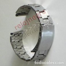 Recambios de relojes: ARMIS METÁLICO DE ACERO - CITIZEN QUARTZ - LOGO - C Q - CORREA DE RELOJ - ¿ ANTIGUA VINTAGE ?. Lote 133494506