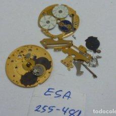 Pièces de rechange de montres et horloges: ETA 255 481. Lote 133652110
