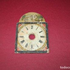 Recambios de relojes: ANTIGUA ESFERA DE RELOJ SELVA NEGRA - RATERA PEQUEÑA. Lote 133752958