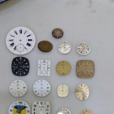 Recambios de relojes: LOTE ESFERAS DE RELOJ. Lote 134874306