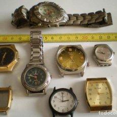 Recambios de relojes: LOTE DE RELOJES DE PILA.. Lote 135314758