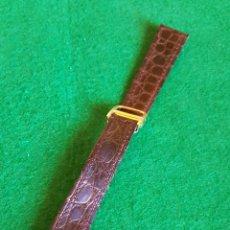 Recambios de relojes: CORREA DE PIEL. Lote 135324866