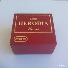 Ricambi di orologi: ESTUCHE O CAJA PARA RELOJ HERODIA ORO. GENÉVE, SUIZA. Lote 135619470