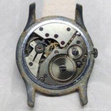 Recambios de relojes: MAQUINARIA BUSER FRÈRES DE CARGA MANUAL 15 RUBIS, SWISS MADE - PARA PIEZAS - CAJA 34 MM.. Lote 136388350