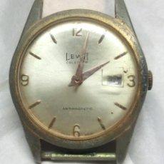 Recambios de relojes: MAQUINARIA DE RELOJ LEWA DE CARGA MANUAL, SWISS MADE - PARA PIEZAS - CAJA 3 CM.. Lote 136389482