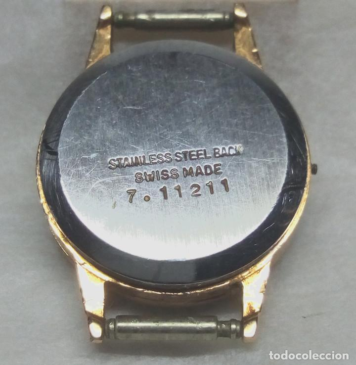 Recambios de relojes: RELOJ TITAN DE CARGA MANUAL, SWISS MADE - CAJA 2 cm. - NO FUNCIONA - Foto 2 - 136485402