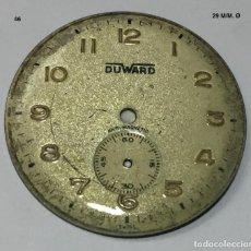 Recambios de relojes: ESFERA O CUADRANT DUWARD 29 M/M. Ø. Lote 137125162