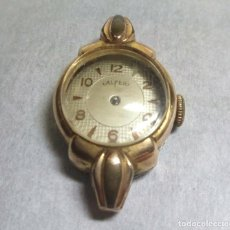 Recambios de relojes: ANTIGUO RELOJ ALFER CARGA MANUAL 15 JEWELS, SWISS MADE - PARA PIEZAS - CAJA 17 MM.. Lote 137329514