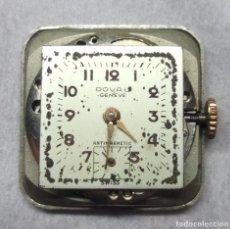 Recambios de relojes: RELOJ DOVAL GENEVE CARGA MANUAL 15 JEWELS, SWISS MADE - PARA PIEZAS - CAJA 2 CM.. Lote 137332630