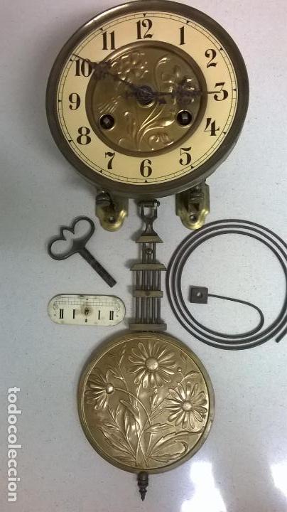 MAQUINA DE RELOJ. MODERNITA .FUNCIONA.MARCA JUNGHANS (Relojes - Recambios)