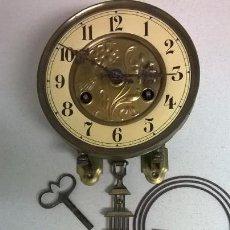 Recambios de relojes: MAQUINA DE RELOJ. MODERNITA .FUNCIONA.MARCA JUNGHANS. Lote 138343202