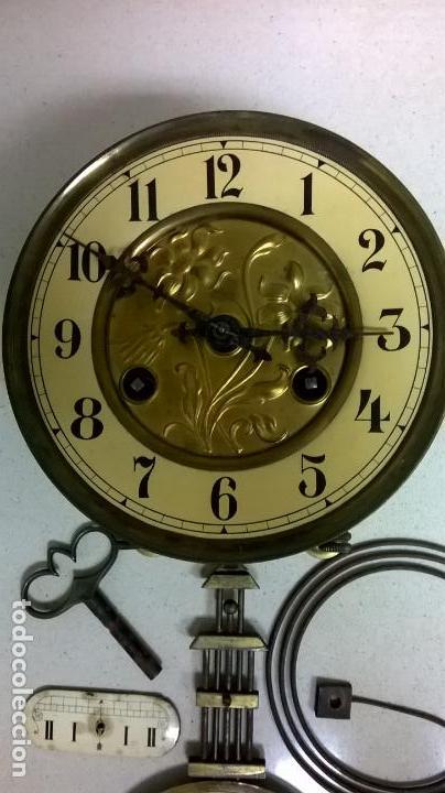 Recambios de relojes: Maquina de reloj. Modernita .Funciona.Marca Junghans - Foto 2 - 138343202