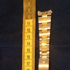 Recambios de relojes: CORREA RELOJ ROLEX ORIGINAL ORO Y ACERO. Lote 138634457