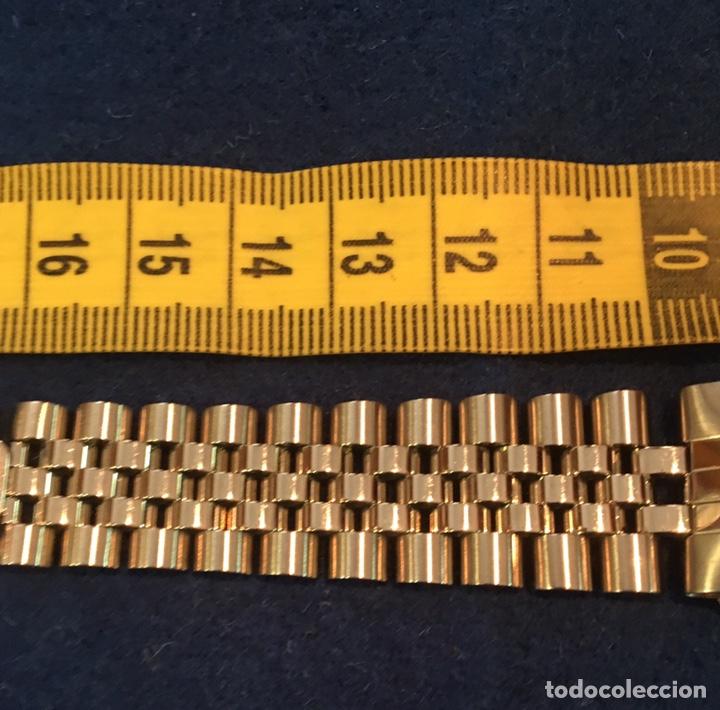 Recambios de relojes: Correa armis Rolex jubileo original Nos - Foto 2 - 138634500