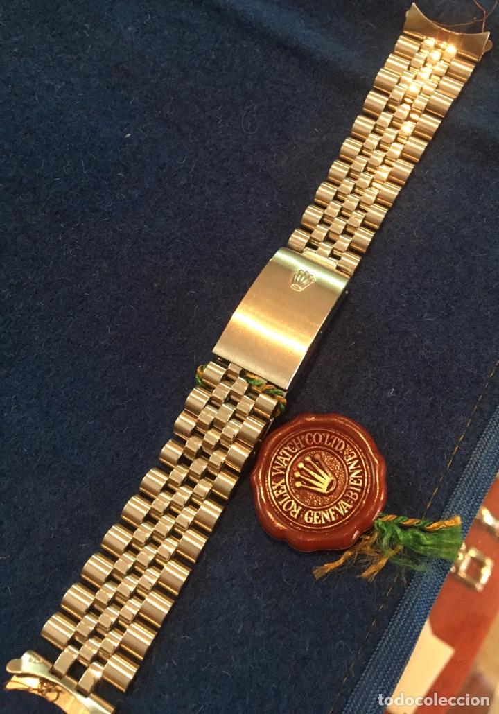 Recambios de relojes: Correa armis Rolex jubileo original Nos - Foto 3 - 138634500
