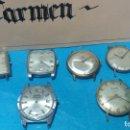 Recambios de relojes: LOTE DE 6 RELOJES AUTOMATICOS PARA REPARAR O PIEZAS, AUNQUE PARECEN QUIEREN ANDAR. Lote 138985938