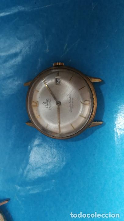 Recambios de relojes: Lote de 6 relojes automaticos para reparar o piezas, aunque parecen quieren andar - Foto 3 - 138985938