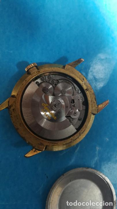 Recambios de relojes: Lote de 6 relojes automaticos para reparar o piezas, aunque parecen quieren andar - Foto 4 - 138985938