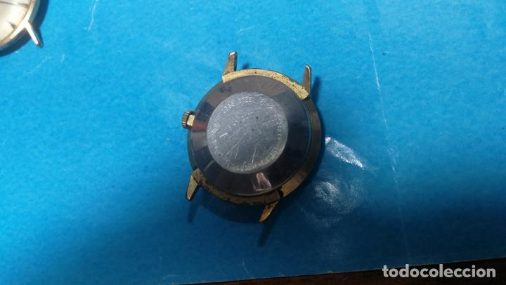 Recambios de relojes: Lote de 6 relojes automaticos para reparar o piezas, aunque parecen quieren andar - Foto 5 - 138985938