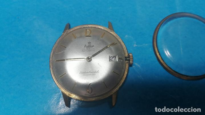 Recambios de relojes: Lote de 6 relojes automaticos para reparar o piezas, aunque parecen quieren andar - Foto 6 - 138985938