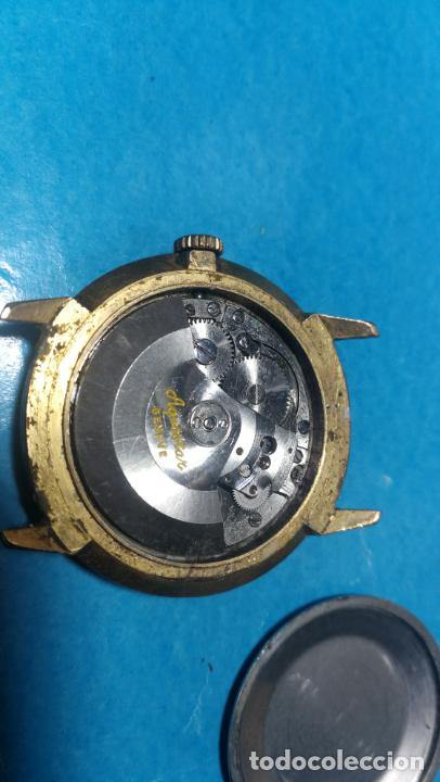 Recambios de relojes: Lote de 6 relojes automaticos para reparar o piezas, aunque parecen quieren andar - Foto 10 - 138985938
