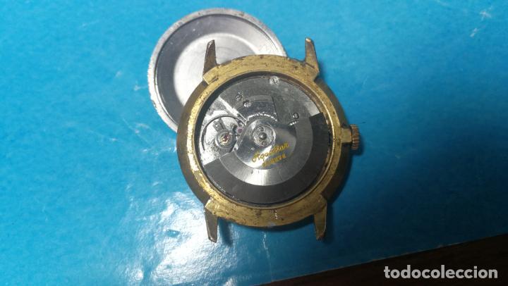 Recambios de relojes: Lote de 6 relojes automaticos para reparar o piezas, aunque parecen quieren andar - Foto 11 - 138985938