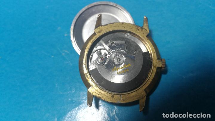 Recambios de relojes: Lote de 6 relojes automaticos para reparar o piezas, aunque parecen quieren andar - Foto 12 - 138985938