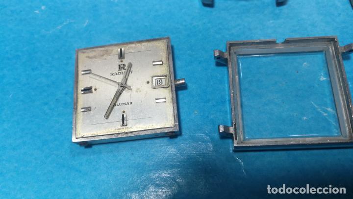 Recambios de relojes: Lote de 6 relojes automaticos para reparar o piezas, aunque parecen quieren andar - Foto 15 - 138985938
