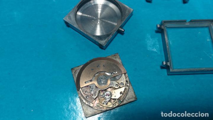 Recambios de relojes: Lote de 6 relojes automaticos para reparar o piezas, aunque parecen quieren andar - Foto 16 - 138985938