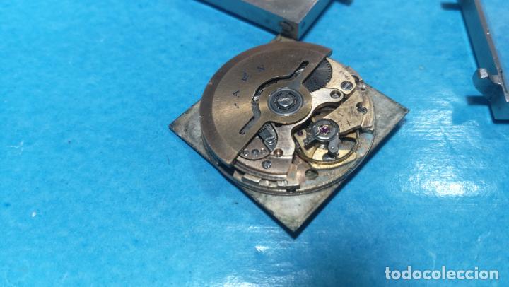 Recambios de relojes: Lote de 6 relojes automaticos para reparar o piezas, aunque parecen quieren andar - Foto 17 - 138985938