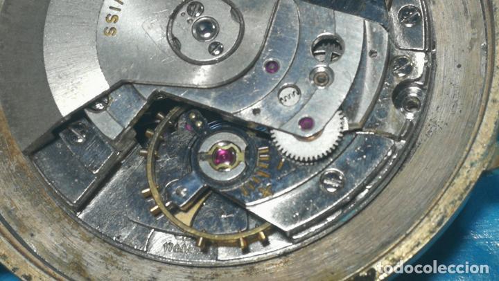 Recambios de relojes: Lote de 6 relojes automaticos para reparar o piezas, aunque parecen quieren andar - Foto 22 - 138985938