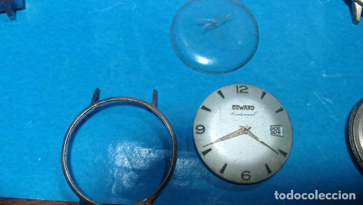 Recambios de relojes: Lote de 6 relojes automaticos para reparar o piezas, aunque parecen quieren andar - Foto 26 - 138985938