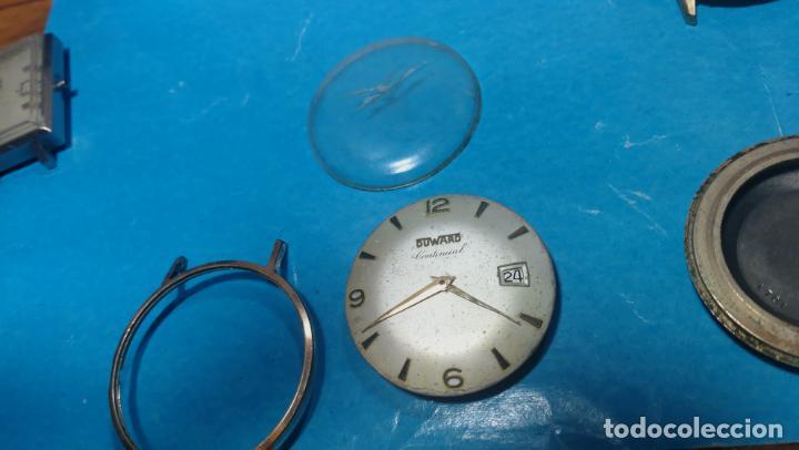 Recambios de relojes: Lote de 6 relojes automaticos para reparar o piezas, aunque parecen quieren andar - Foto 28 - 138985938