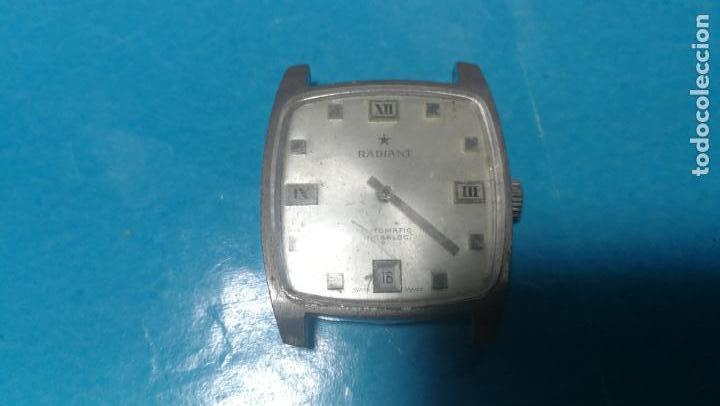 Recambios de relojes: Lote de 6 relojes automaticos para reparar o piezas, aunque parecen quieren andar - Foto 30 - 138985938