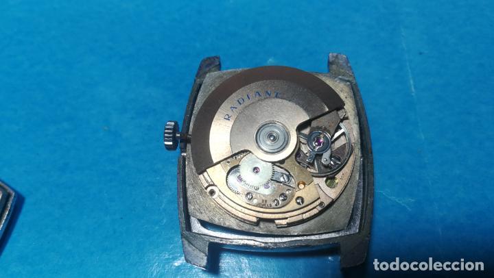 Recambios de relojes: Lote de 6 relojes automaticos para reparar o piezas, aunque parecen quieren andar - Foto 31 - 138985938